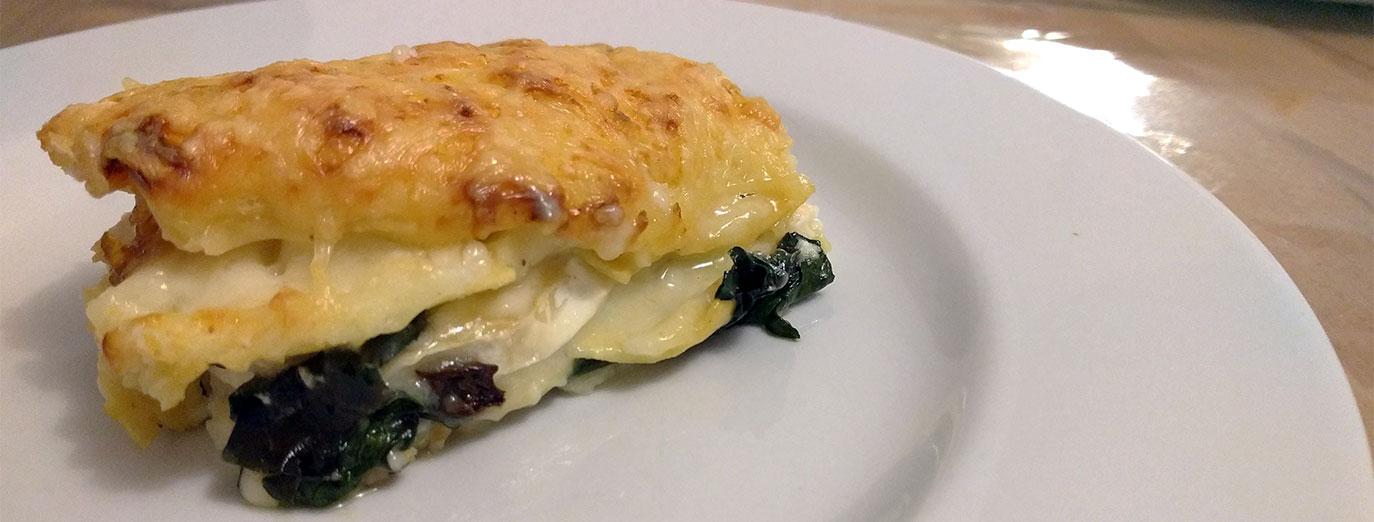 lasagnes-vegetariennes-chevre-epinards-tofu