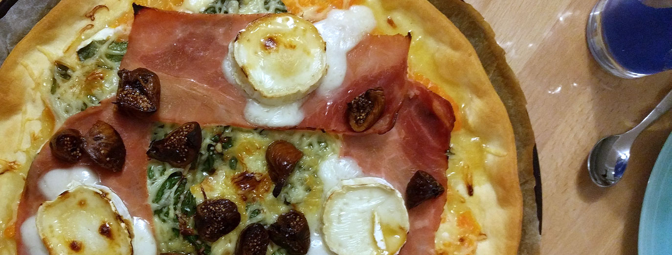 pizza-epinards-figues-chevre-miel