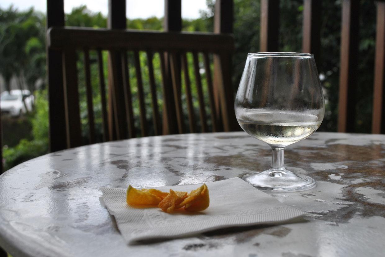 degustation-vin-banane-chips-melon
