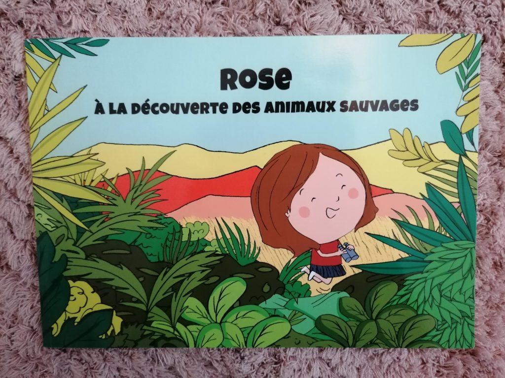 livre personnalisé Ty Môme de Rose